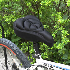 Bike Cycling Bicycle Silicone Saddle Seat Cover Silica Gel Cushion Soft Pad New