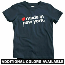 Made In New York Kids T-shirt - Baby Toddler Youth Tee - City NYC Brooklyn Bronx