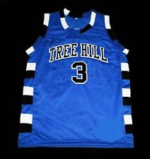 LUCAS SCOTT #3 ONE TREE HILL RAVENS JERSEY Blue NEW SEWN ANY SIZE