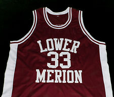 KOBE BRYANT LOWER MERION HIGH SCHOOL JERSEY Maroon NEW SEWN ANY SIZE
