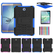 """Hybrid Protective Rugged Hard Case Cover for Samsung Galaxy Tab S2 8.0"""" /9.7"""""""