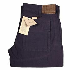 31716 pantalone BURBERRY LONDON viola jeans uomo trousers men