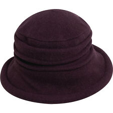 Scala Hats Packable Wool Cloche 6 Colors Hats/Gloves/Scarve NEW