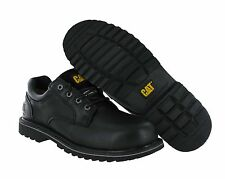 Men's Caterpillar Work Shoes Electric Oxford Black Steel Toe P90421 Wide