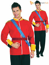 Men's Royal Prince Charming Costume Adults William Fancy Dress Panto Outfit