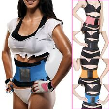 NEW Waist Cincher Trainer Stomach Body Wrap & Back Lumbar Training Support