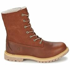 Timberland Authentic Teddy Fleece WP Rust Womens Boots - 8309A W