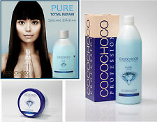 COCOCHOCO PURE BRAZILIAN KERATIN STRAIGHTENING BLOW DRY TREATMENT BLOND HAIR KIT