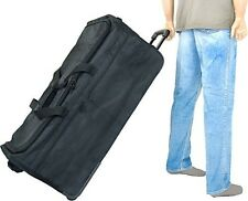 """35"""" Ultra Simple Wheeled Duffel. Delivery is Free"""