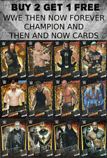 WWE SLAM ATTAX THEN NOW FOREVER CHAMPION CARDS SLAM ATTAX RIVALS TOPPS