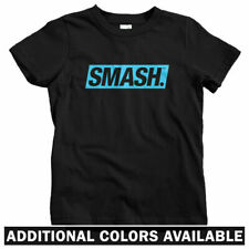 Smash Boxed Logo Kids T-shirt - Baby Toddler Youth Tee - Streetwear Hip-Hop Gift