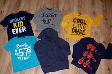 Boys Bundle Clothes Top Jumper Long Sleeve Top 6 Items Age 3-4, 4-5, 5-6 years