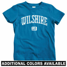 Wilshire Los Angeles Kids T-shirt - Baby Toddler Youth Tee - CA California Blvd