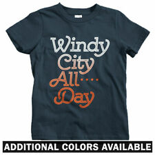 Windy City All Day Kids T-shirt - Baby Toddler Youth Tee - Chicago Illinois 773