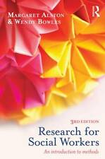 Research for Social Workers: An Introduction to Methods by Margaret Alston