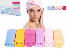 Microfibre After Shower Hair Drying Wrap Towel Quick- Dry Hair Fast Drying Towel