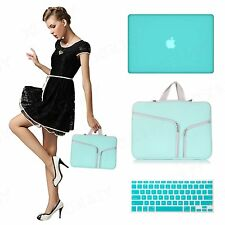 "Hard Case Shell Cover for Apple Mac MacBook Air 13"" 13.3""  + Keyboard cover +bag"