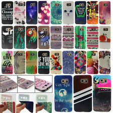 Phone Pattern Rubber TPU Soft Back Skin Protect Cover Case For Samsung Galaxy