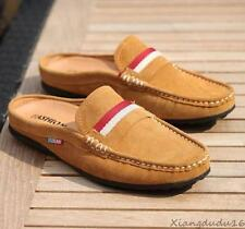 new mens casual slip on loafer suede leather Moccasins slipper Driving shoes