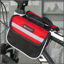 Practical Frame Pannier Front Tube Double Saddle Bag Mountain Bike Cycling Bag