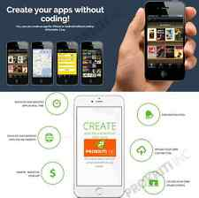 Make and Sell mobile APP without coding > online application > lifetime Access