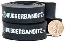Pair of Rubberbanditz 12 inch Continuous Loop Powerlifting Bands