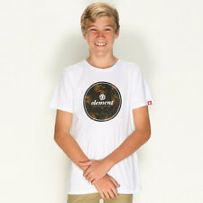 New Element Boys Gonzo T-Shirt in White | Kids Boys Boys Tees
