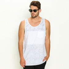 New Reef Pano Singlet in White | sale Mens Sale Mens Sale Singlets