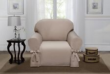 SAND LUCERNE CHAIR SLIPCOVER, COUCH COVER, SOFA, LOVE SEAT, CHAIR, 4 COLORS