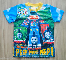 THOMAS & FRIEND Boy Girl Kids T Shirt Size S,M,L Age 1-4 New Great Gift #02