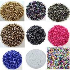 1200Pcs 2mm Czech Hand-beaded Glass Spacer beads Jewelry Making DIY Pick HYDG