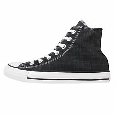 Converse Chuck Taylor All Star Black White Mens Denim Shoes Trainers 151201C