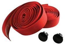 TORTEC HELIX CORK CYCLE HANDLEBAR BAR TAPE BLACK or RED or WHITE 2000mm Long