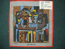 Judy Roberts Painted needlepoint canvas No.964  14 x 14 inches Finished