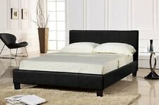 Brand New PU Leather Bed Frame Double/Queen/KingSingle size Black or White