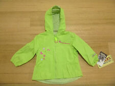 CARTERS Toddler Girls Jacket Green, Windproof, Water Resistant Beautiful Quality