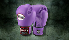 MUAY THAI KICK BOXING GLOVES TWINS SPECIAL MMA 8 10 12 14 16 18 OZ BGVL-3 LAVEND