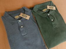 "MEN'S JC PENNEY POLO SHIRT ""THE FOUNDRY"" 100% COTTON~4XL~DARK GRAY/FOREST GREEN"