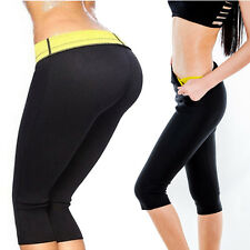 New Sweat Sauna Body Shaper Women Slimming Pants Hot Thermo Neoprene Gym Trainer