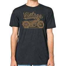 Vintage American Motorcycle Men's American Apparel T-shirt