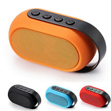 Mini Outdoor Deep Bass Stereo TF Card Bluetooth MP3 Speaker LED Light Handsfree