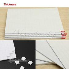 4Sheet Double Sided Adhesive Sticky Foam Pads Fixer For Scrapbooking 1mm,2mm,3mm