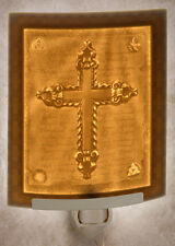 Cross Lithophane Night Light or Lamp