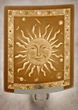 Celestial Sun Lithophane Night Light - Porcelain Night Light - Nightlight