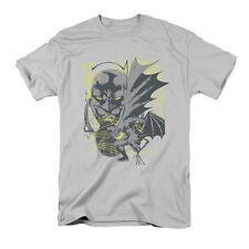 Batman Men's  Symbiotic T-shirt Silver Rockabilia