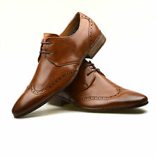 NEW MENS SMART OFFICE CLASSIC FANCY CASUAL DRESS FORMAL PARTY SIZE WEDDING SHOES
