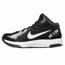 Nike The Air Overplay IX 9 Black White Mens Basketball Shoes Sneakers 831572-001