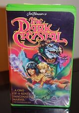 Jim Henson's The Dark Crystal VHS Green Claimshell Case Rare Muppets