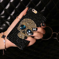 Crystal Skull Skeleton Hard Silicone Phone Case Cover For Apple iPhone 5 6S Plus