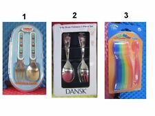 Baby Fork & Spoon Dansk Baby Duck,Thomas & Friends,the first year